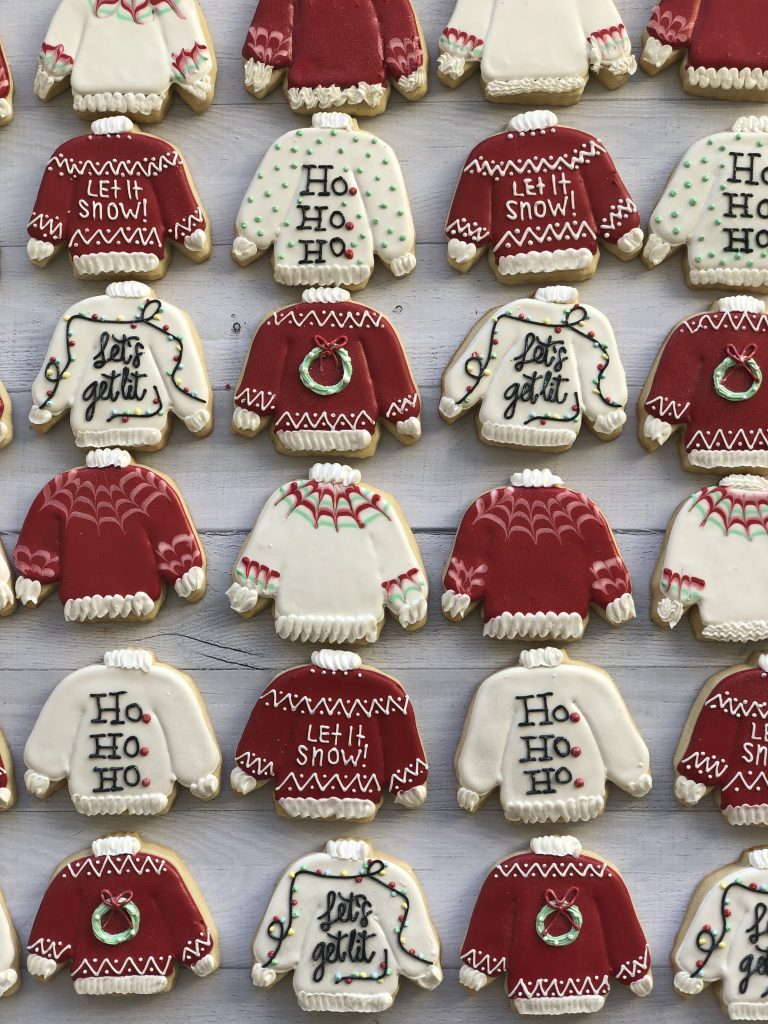 Tasty Ugly Christmas Sweaters